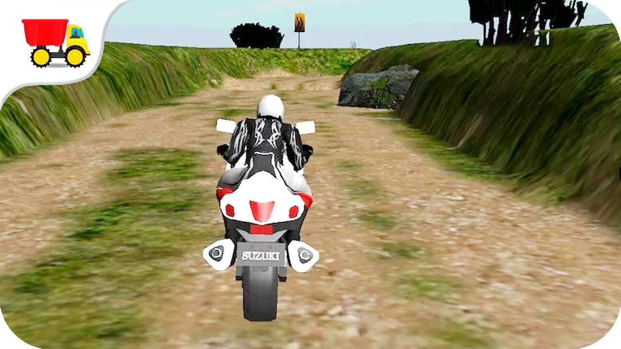 youtube free motorcycle games  Bike Racing Games - Dirt Bike Adventure - Gameplay Android free ...
