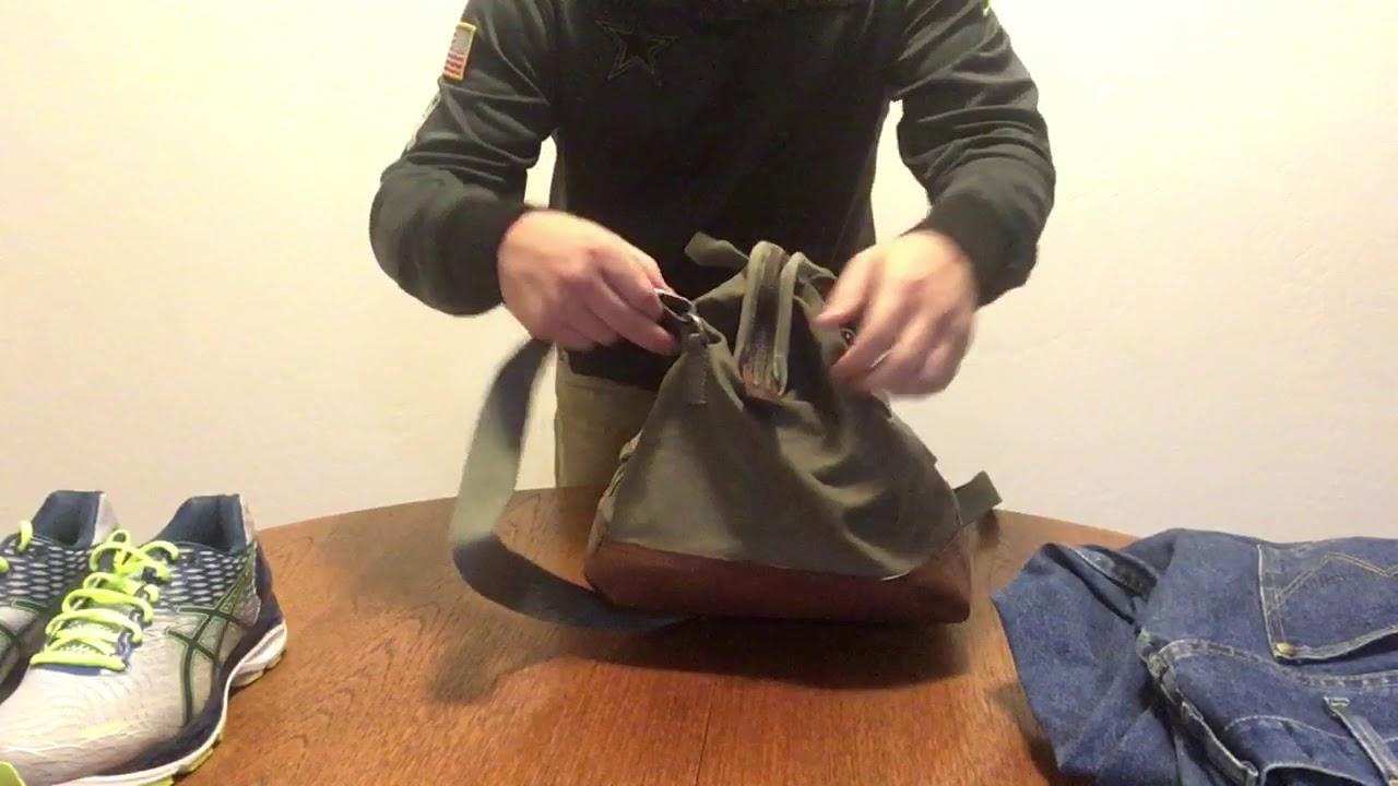 afbfd0766b Mountain Khakis Cabin Duffle Bag Review - YouTube
