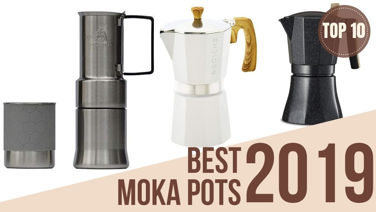 Top 10: Best Moka Pot Espresso Makers of 2019 / Stovetop ...