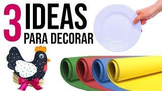 DIYs - Ideas increíbles con GOMA EVA para decorar tu Hogar