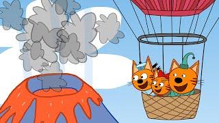 Три кота | Фантазия | Серия 34 | Мультфильмы для детей