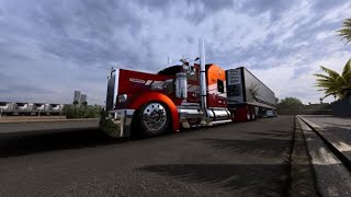 American Truck Simulator 1.39 TexasChromeVirtualShop KW W900L with N14 & B4RT REEFER+ mod list   ATS screenshot 3