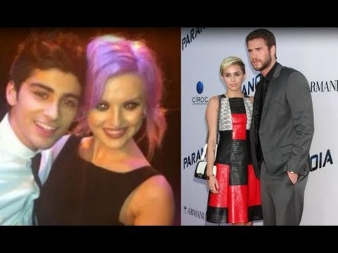 Zayn Malik and Perrie Edwards Engaged VS Miley Cyrus and Liam Hemsworth!