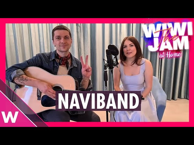 """NAVIBAND (Belarus Eurovision 2017) """"Девочка в белом"""" (Girl in White)   Wiwi Jam at Home"""