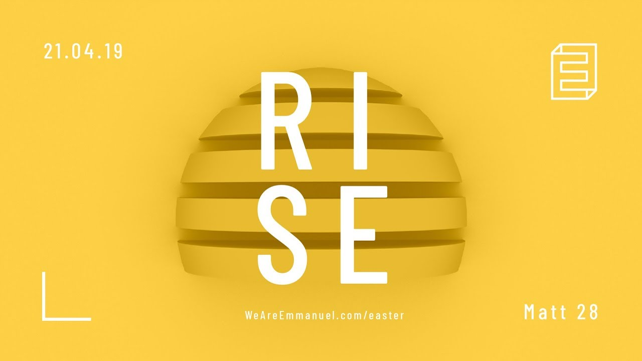 Sermon On The Mount Pt 8 | Rise (Easter service) Cover Image