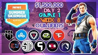 $1,500,000 🥊Pax West Summer Skirmish🥊 Day 2/Game 1 Feat. TSM_Daequan, SypherPK (Fortnite)