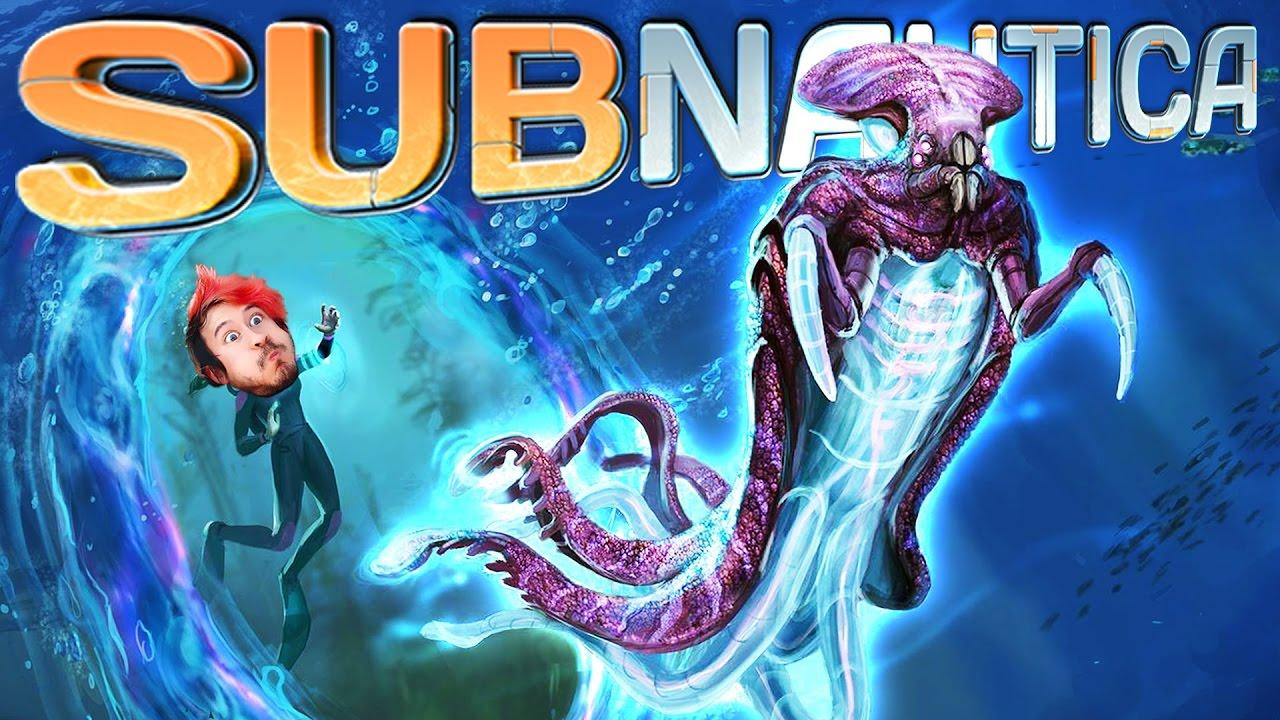 Subnautica  Part 43  THE WARPER IS TERRIFYING!!