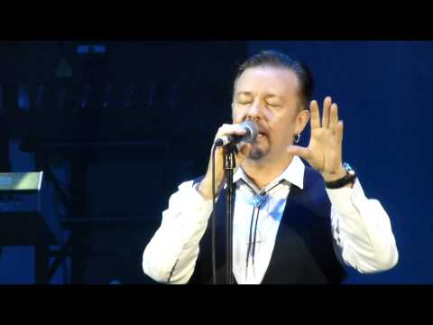David Brent - Lady Gypsy - Ricky Gervais at Hammersmith Eventim Apollo 19 December 2013