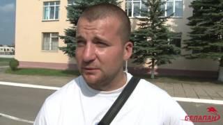 На одном из участков в Минске избирателям раздавали продукцию