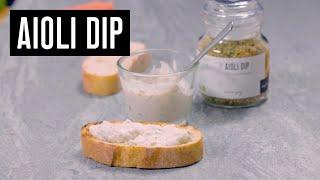 Aioli Dip Wajos - Zubereitung