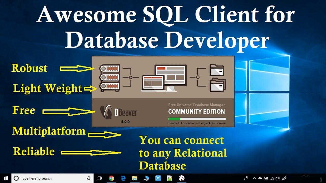 Awesome Free SQL Client for Database Developer | Dbeaver Community Edition  by Cool IT Help
