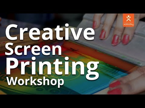 Bloom & Grow | Screen Printing | Creative Workshop | Xoxoday | Bangalore