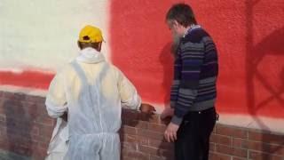 Окраска фасада, Барнаул(, 2015-05-12T06:21:45.000Z)