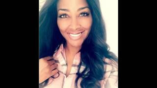 #Kenya Moore #NoMakeup selfie! Hot Reality TV  star is a DIME! #RHOA Season 9 model is so pretty!