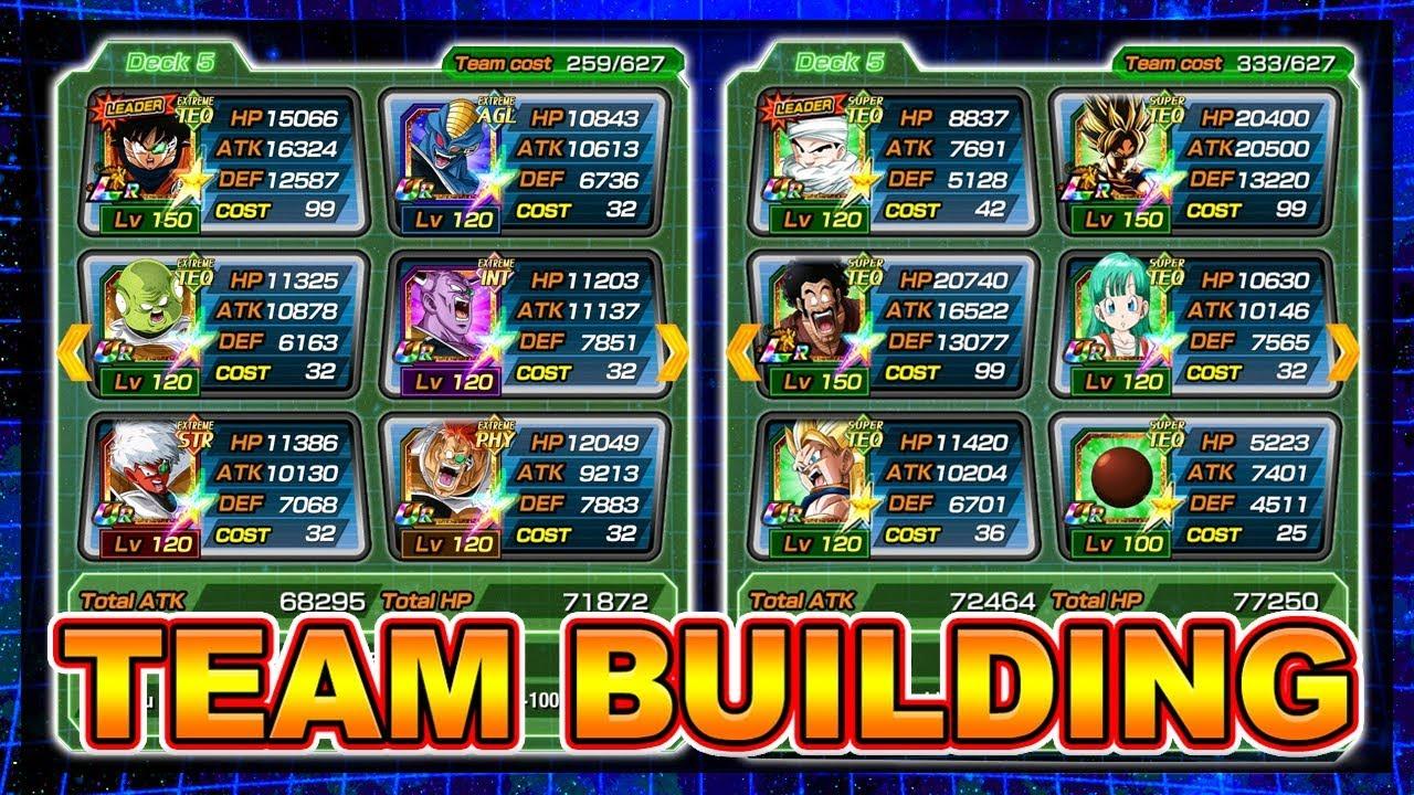 The ULTIMATE Team Building guide! Dokkan 101   Dragon Ball Z Dokkan Battle