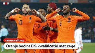 Memphis on 🔥  Samenvatting Nederland - Wit-Rusland   EK-kwalificatie 2020