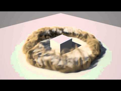 Autodesk Maya Dust / Soil / Smoke Simulation with Maya Fluid (3D Dynamics)
