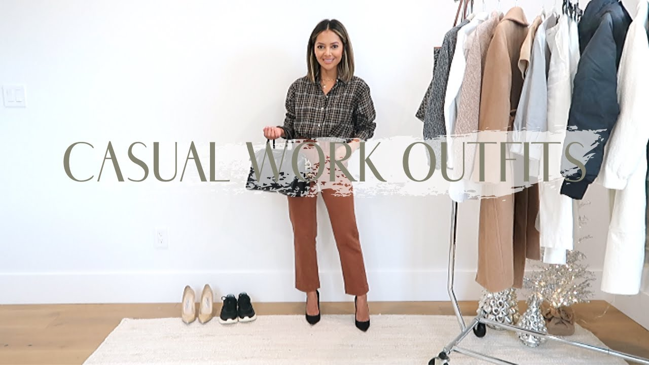 [VIDEO] - Easy Everyday Work Outfits Fall 2019 | Office Style 2