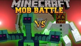 Hydra Vs. Mutant Snow Golem - Minecraft Mob Battles - Twilight Forest and Mutant Creatures Mods