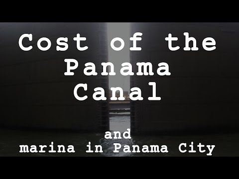 Cost of the Panama Canal