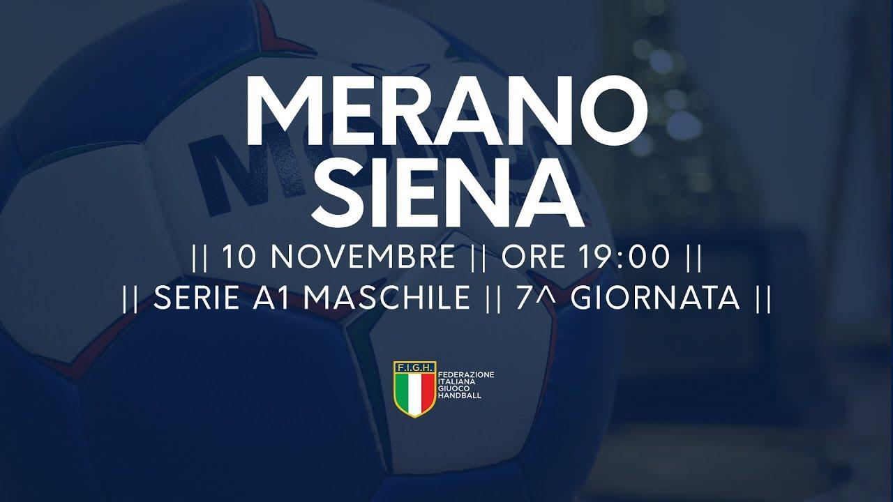 Serie A1M [7^]: Meran - Siena 23-30