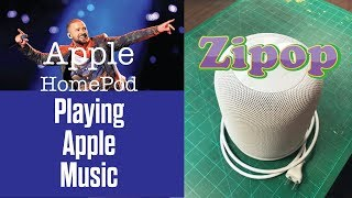Apple HomePod Playing Apple Music Justin Timberlake Quick Demo