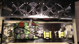 видео выдающаяся стабильность напряжения стабилизатора  «Электроника-6000»