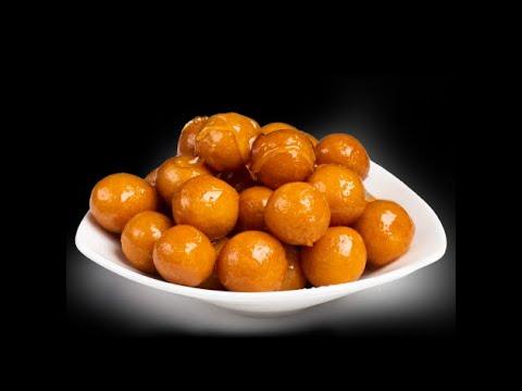 Arabian Dessert Luqaimat   Sweet Dumplings #shorts