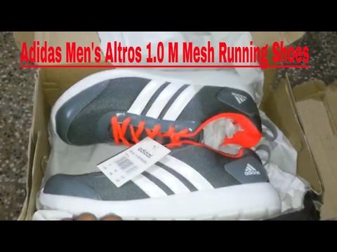 654e962aa60092 Adidas Men s Altros 1.0 M Mesh Running Shoes !! - YouTube