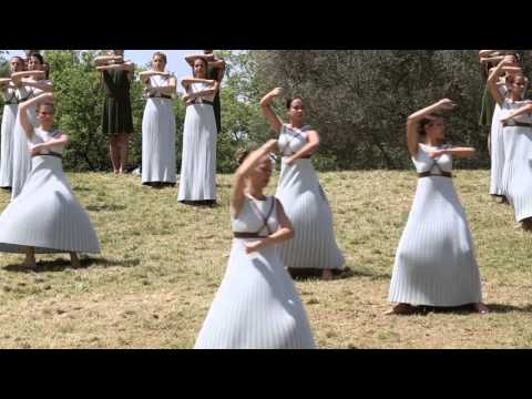 GREECE IS OLYMPIA - Olympic flame ceremony lights spark for Rio 2016