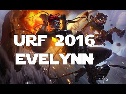 League of Legends - Ultra Rapid Fire (URF 2016) - Evelynn