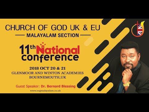 Dr. Bernard Blessing   COG UK & EU - Malayalam Section   11th National Conference @ Bournemouth