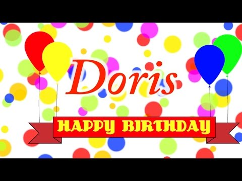 Happy Birthday Doris Song