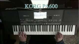 The End Of The World - Korg PA600
