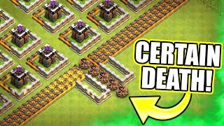 GOLDEN GATE TROLL BASE!! - ENTER IF YOU DARE - Clash Of Clans