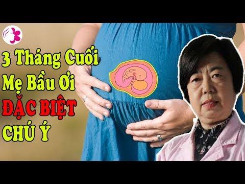 mẹ bầu nên ăn gì 3 tháng cuối tại Gaubongre.com