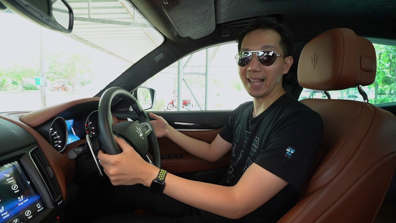 [spin9] รีวิว Maserati Levante GranLusso รถสปอร์ต SUV สัญชาติอิตาลี