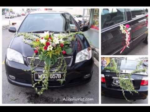 Easy Diy Wedding Car Decorations