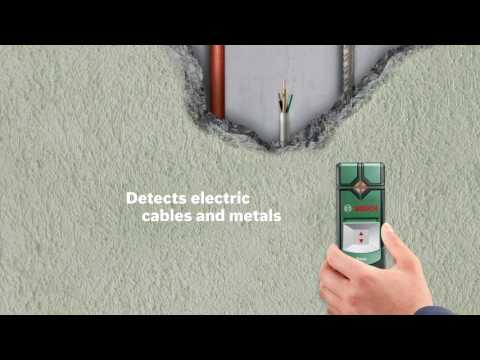 Bosch Truvo Digital Detector : Switch on, detect and drill