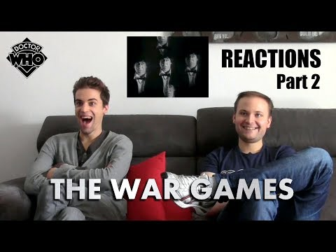 "Doctor Who Classic ""The War Games"" (1969) Part 2 REACTIONS"