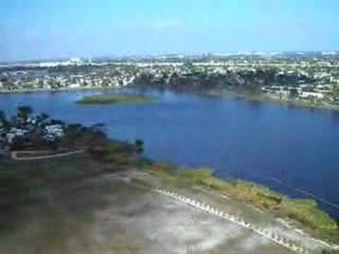 Taking off from Lantana airport