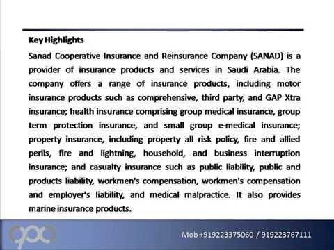 Sanad Cooperative Insurance and Reinsurance Company