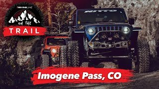 Jeep Off-Roading in Imogene Pass, CO   On The Trail