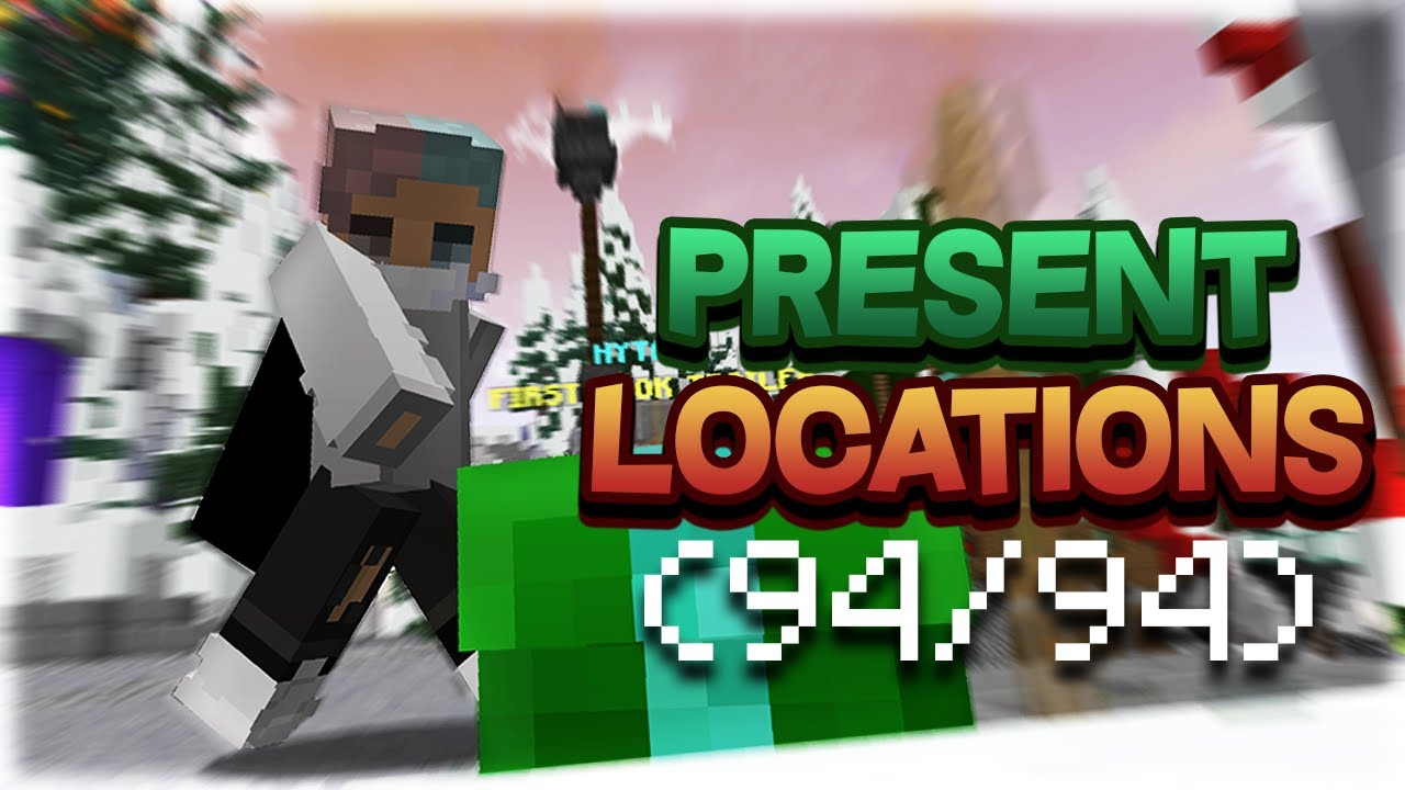HYPIXEL PRESENTS 2020 ALL LOCATIONS (94/94)