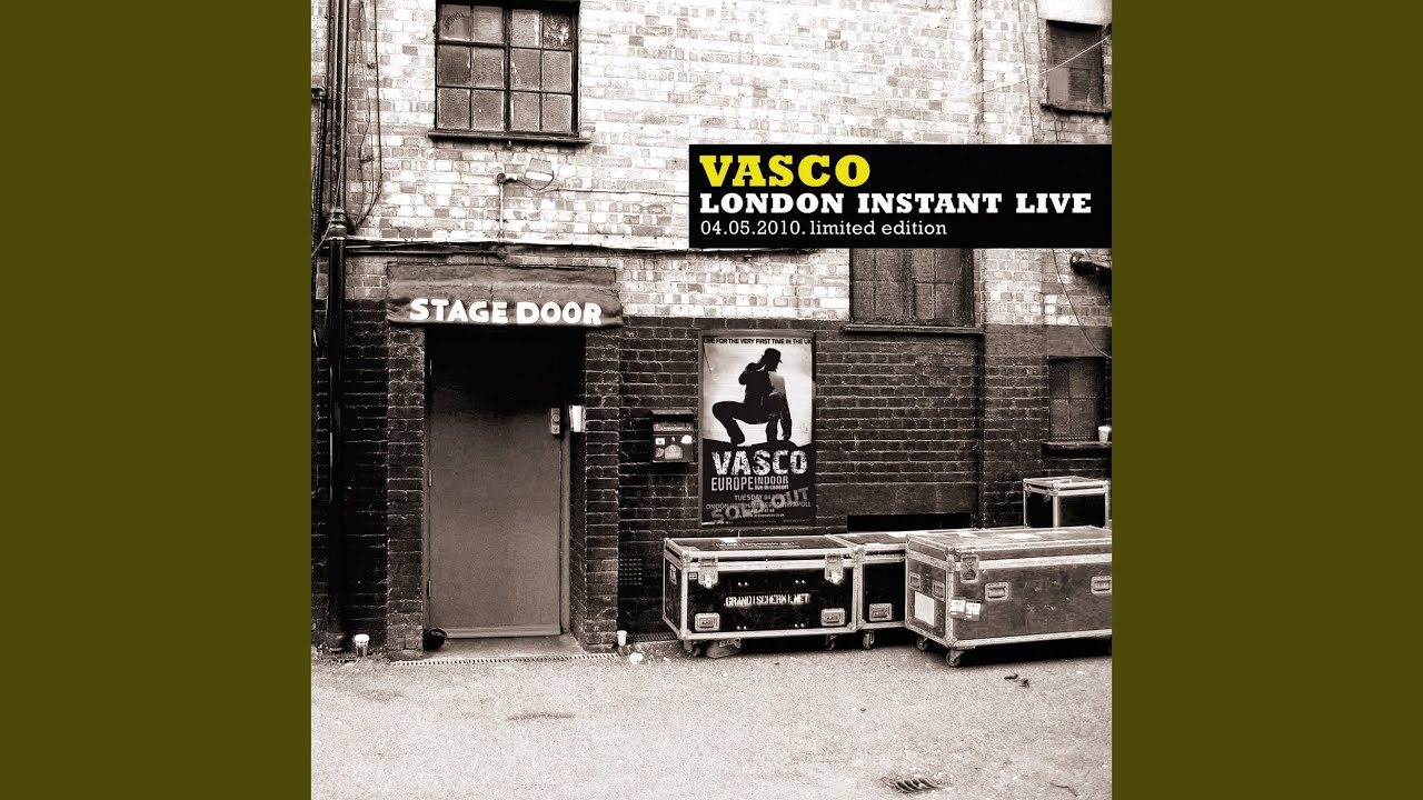 Vasco Rossi Creep Ad Ogni Costo Live From The Hammersmith Apollo United Kingdom 2010