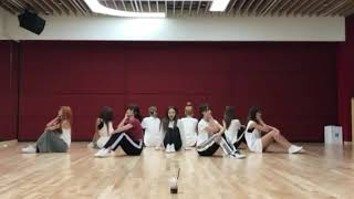 TWICE - 'Dance The Night Away' Dance Practice Mirrored