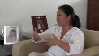 フジモリ元大統領の娘ケイコ議員 / Keiko Fujimori talks about next election