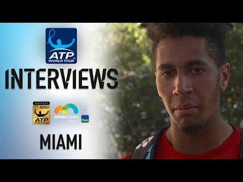 Mmoh Reflects On First Masters 1000 Match Win In Miami 2018