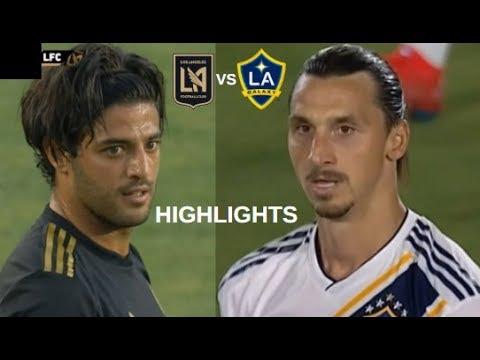 Zlatan Ibrahimovic vs Carlos Vela Highlights | LA Galaxy vs Los Angeles FC 19/07/2019