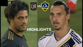 Zlatan Ibrahimovic vs Carlos Vela Highlights | LA Galaxy vs Los Angeles FC 19/07/2019